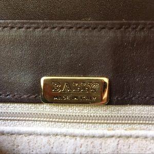 Bally Bags - ⇩ Bally Vintage Monogram Canvas Crossbody Bag